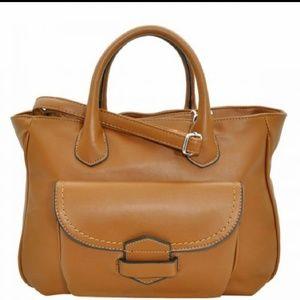Handbags - Cognac brown handbag